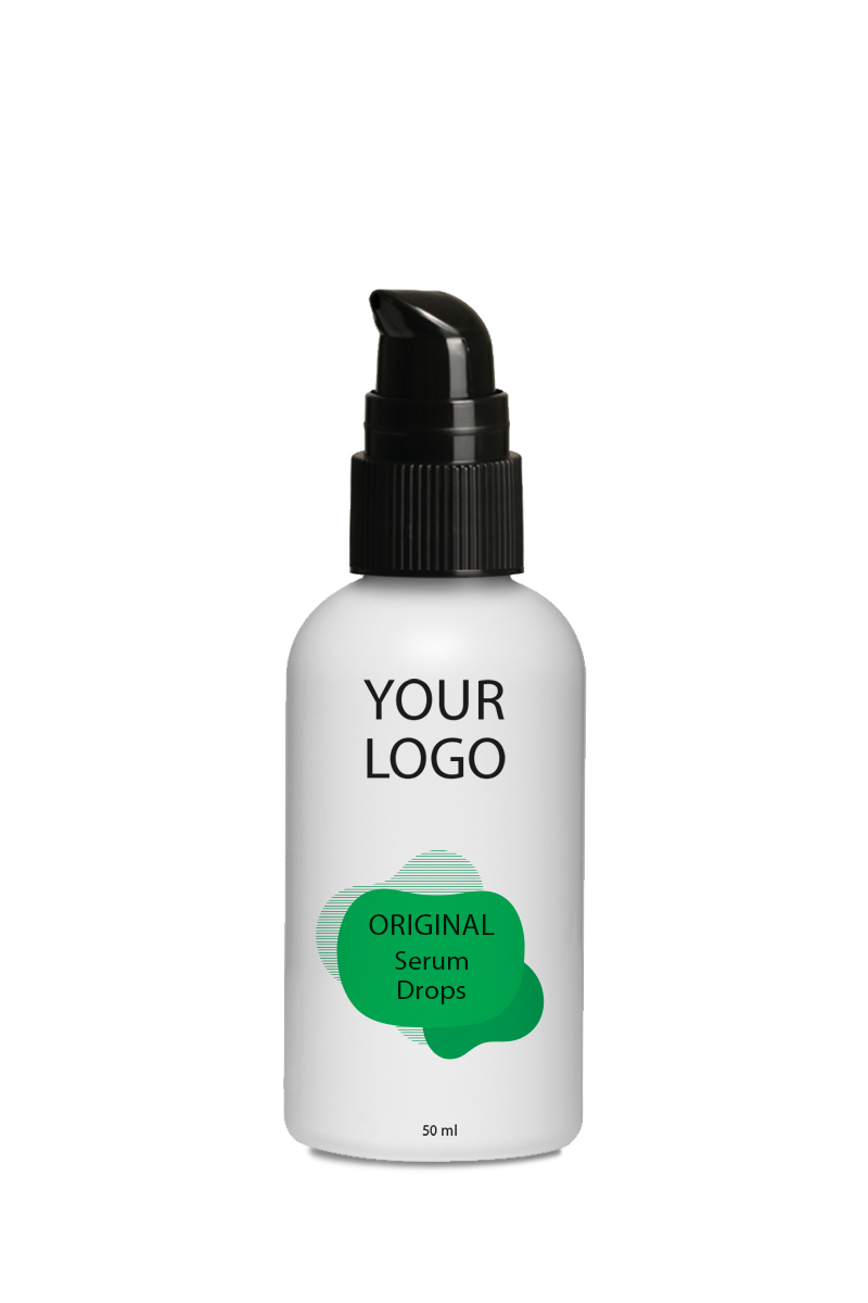 White Label Original Haircare Serum Drops Oil 50ML