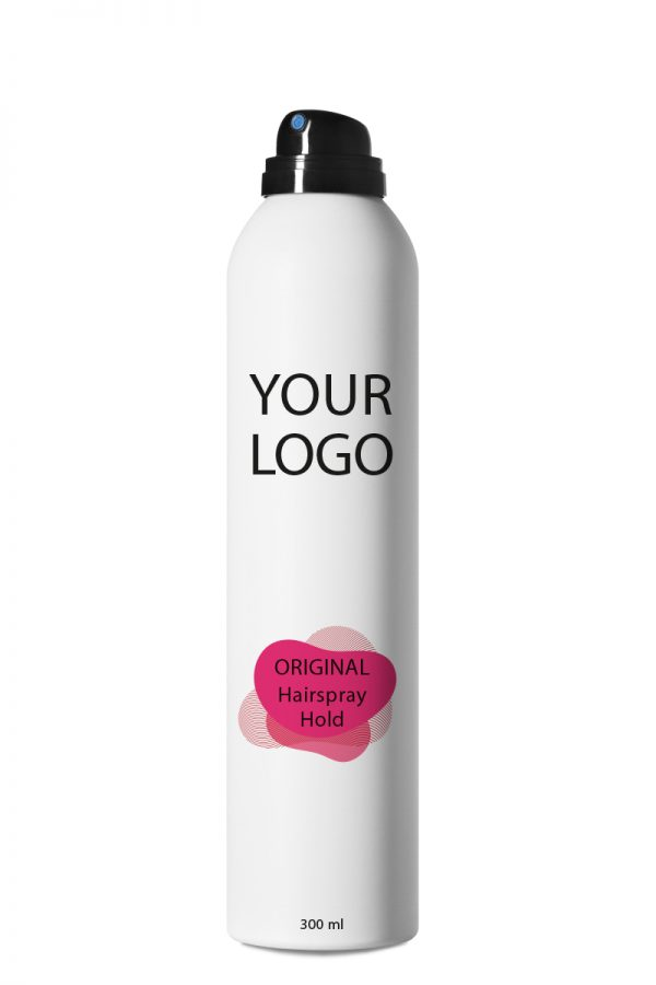 White Label Original Haircare Hairspray Hold 300ML