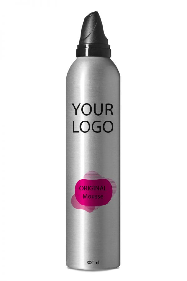 White Label Original Haircare Mousse 300ML