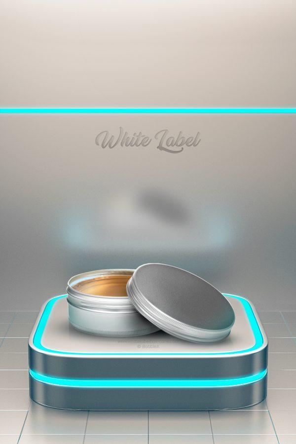 Grooming Pomade Whitelabelhaircare tins