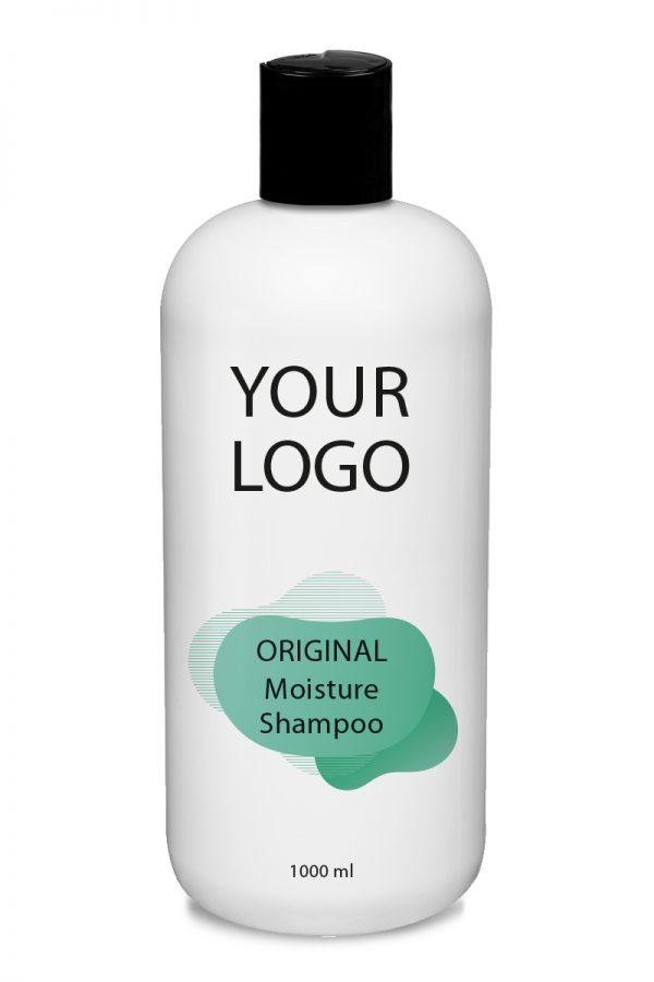 White Label Original Haircare Moisture Shampoo 1000ML