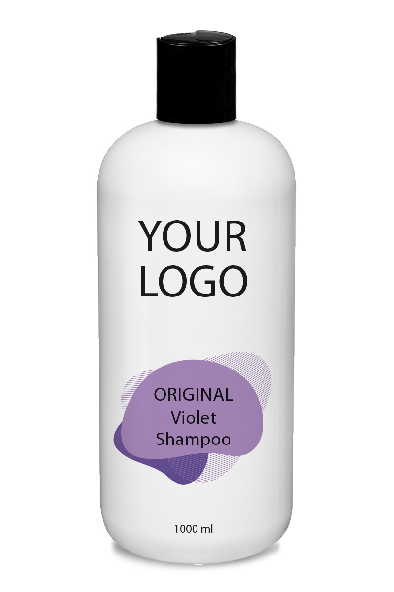 White Label Original Haircare Violet Shampoo 1000ML