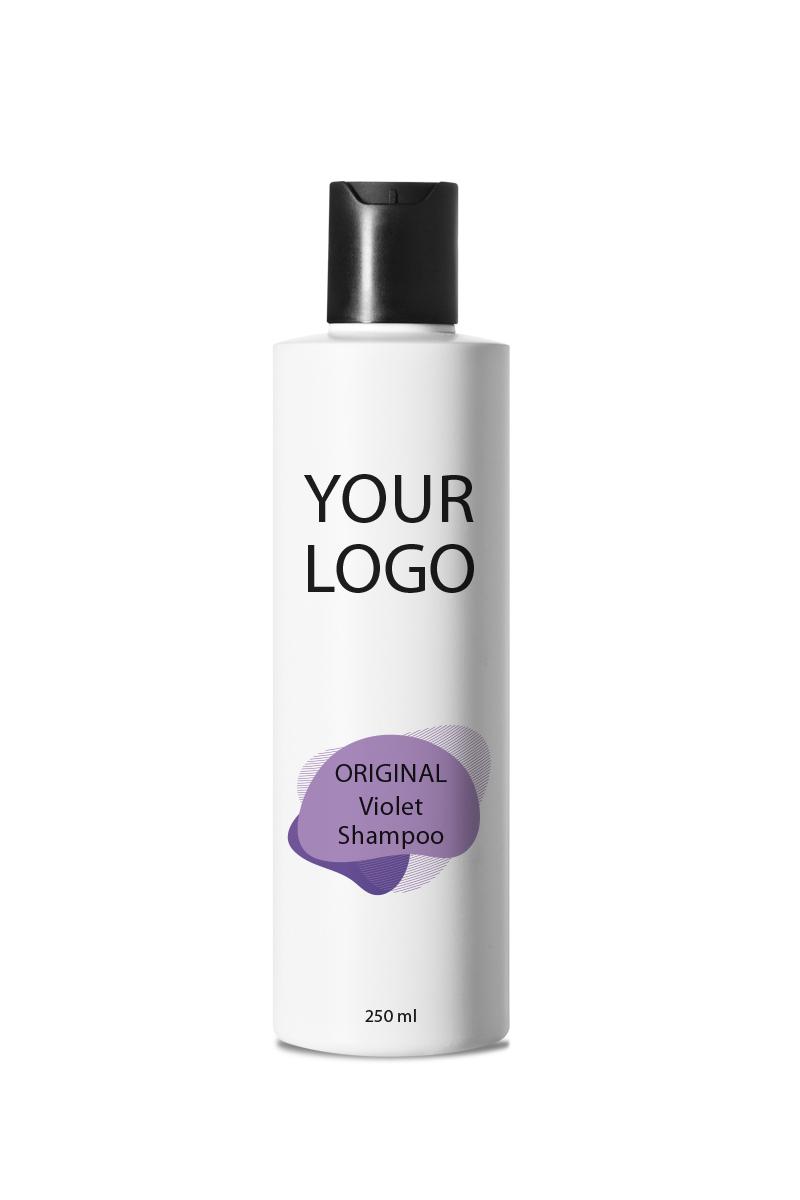 White Label Original Haircare Violet Shampoo 250ML