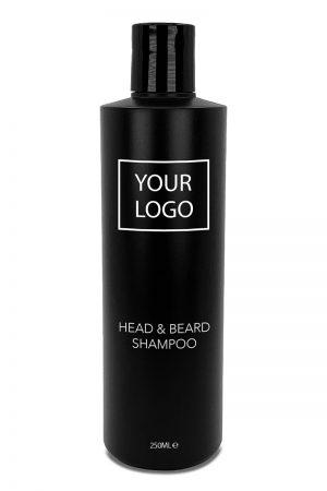 BottleX White Label Barber Men Care Head & Beard Shampoo 250ml