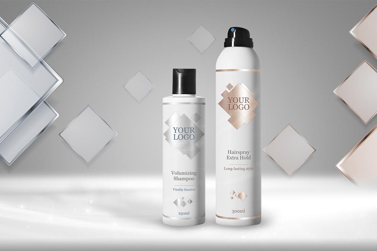 White Label Original Haircare HQ Labels