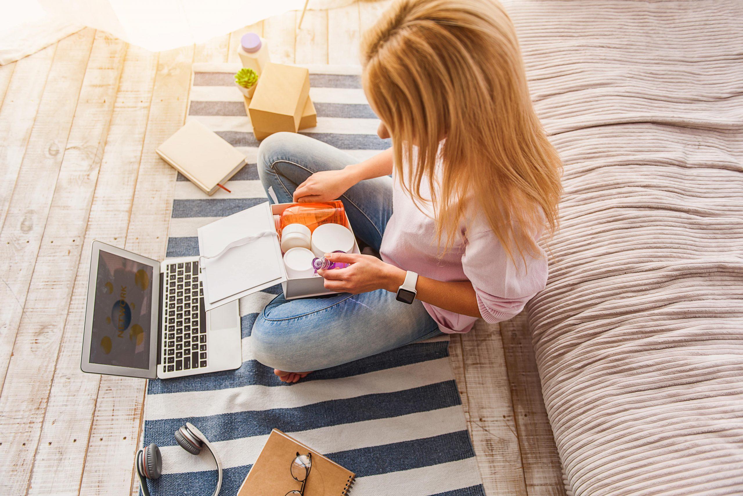 online cosmetica shoppen