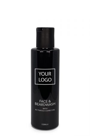 White Label Barber Mencare Face and Beardwash with Activated Charcoal 150ML