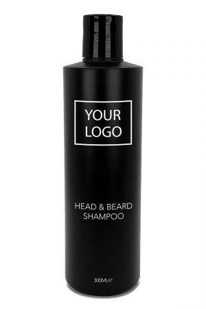 White Label Barber Mencare Head & Beard Shampoo 300ML