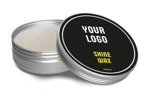 White Label Tins Shine Wax