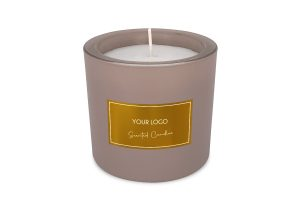 BottleX White Label Homecare Scented Candle Frozen Glass Arabian Nights