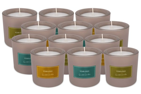 BottleX White Label Homecare Scented Candle Frozen Glass Mix